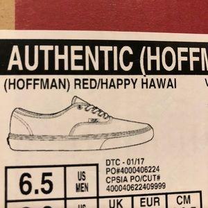 b896a1ba9b Vans Shoes - Authentic Hoffman Happy Hawaii Vans